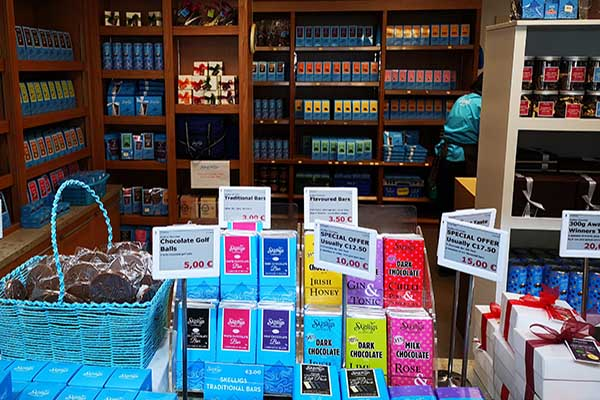 Skellig Chocolate factory