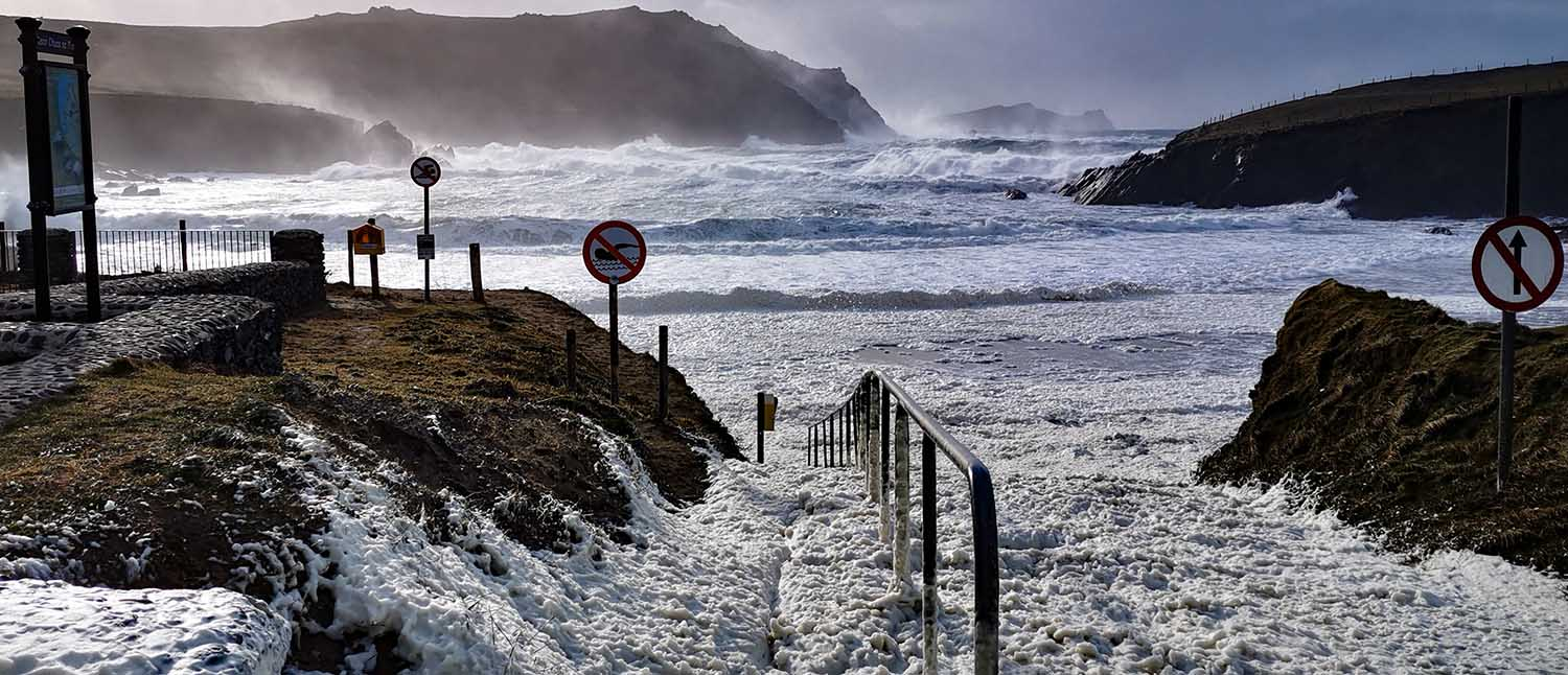 Storm Dennis in Dingle
